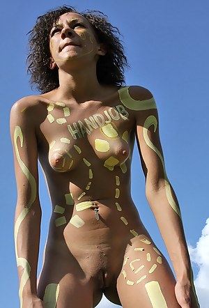 Free Body Paint Porn Pictures
